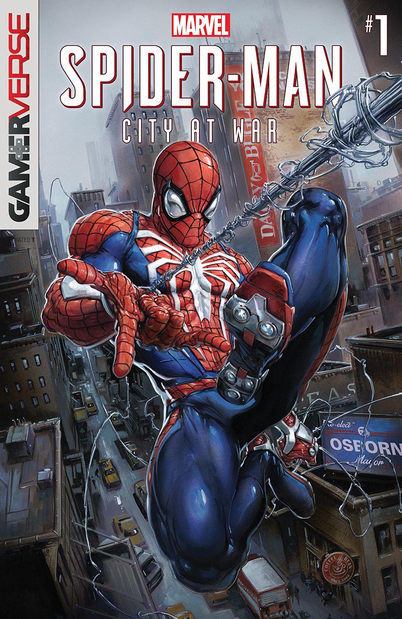Marvel's Spider-Man: City at War Vol 1 1
