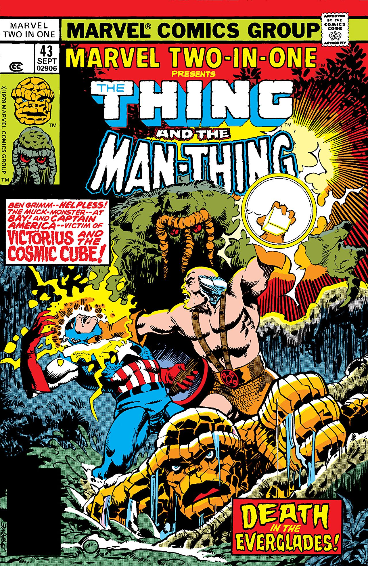 Marvel Two-In-One Vol 1 43
