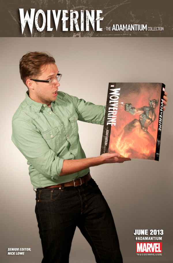 Nick Lowe and the Wolverine Adamantium Collection.jpg