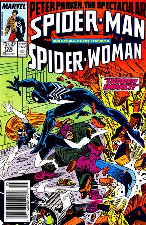 Peter Parker, The Spectacular Spider-Man Vol 1 126.jpg