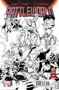 Secret Wars Battleworld Vol 1 1 Paco Medina C2E2 Previews Exclusive Inked Variant