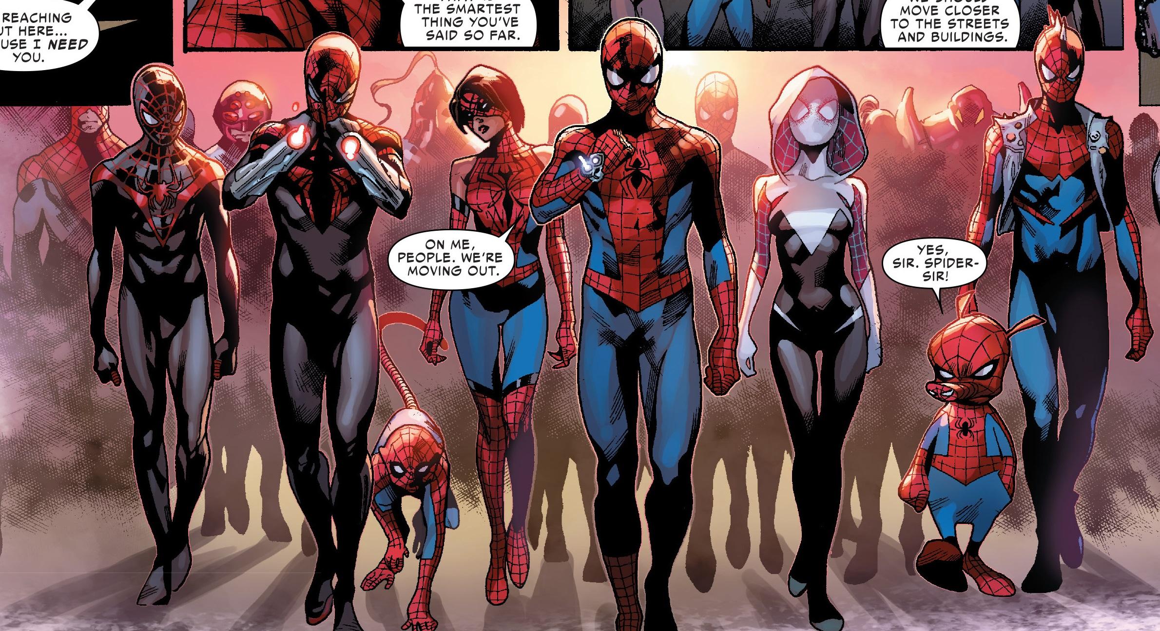 Spider-Army (Multiverse) from Amazing Spider-Man Vol 3 11 003.jpg