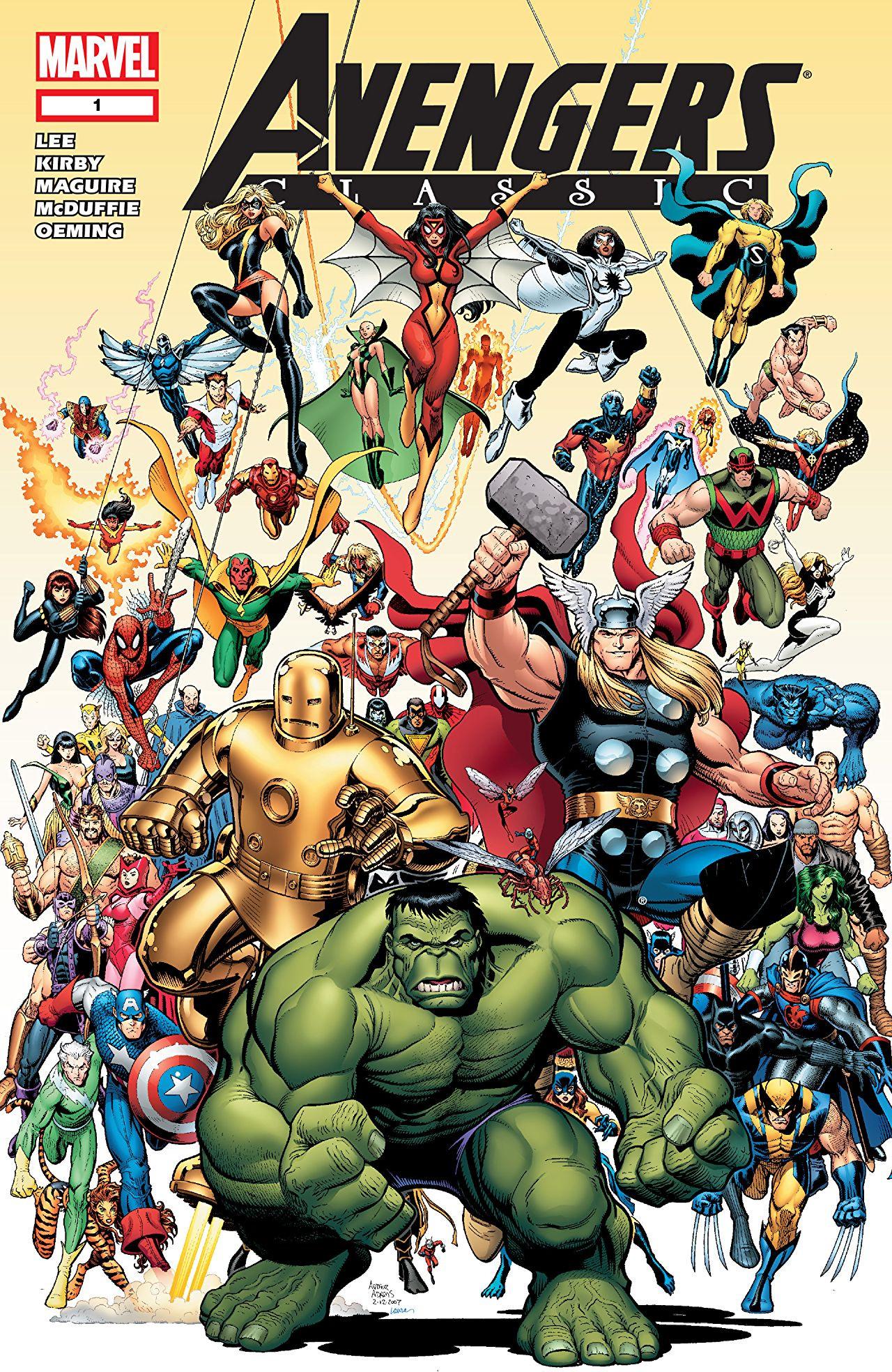 Avengers Classic Vol 1