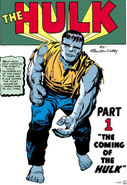 Bruce Banner (Earth-616) from Incredible Hulk Vol 1 1 001