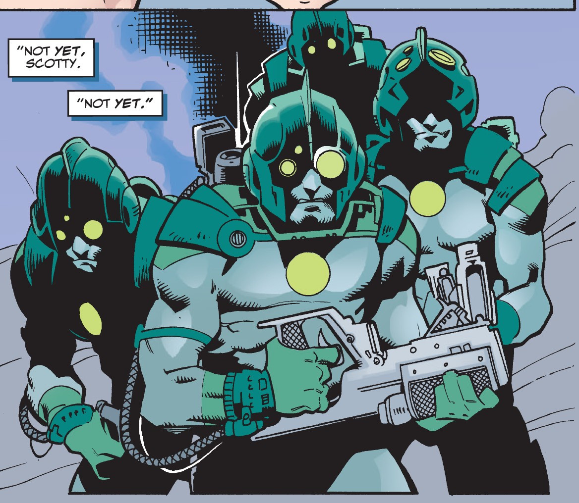 Death Squad (Kree) (Earth-1298)/Gallery