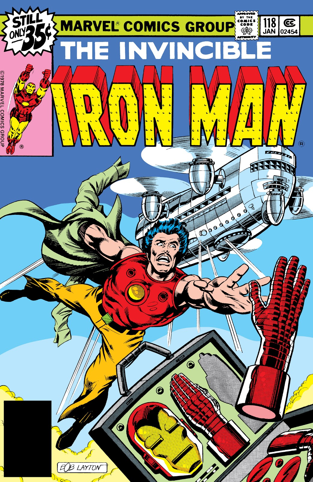 Iron Man Vol 1 118