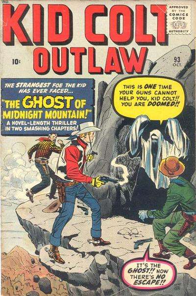 Kid Colt Outlaw Vol 1 93