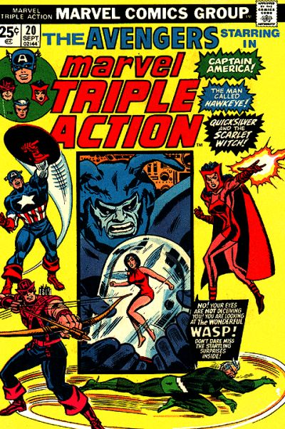 Marvel Triple Action Vol 1 20