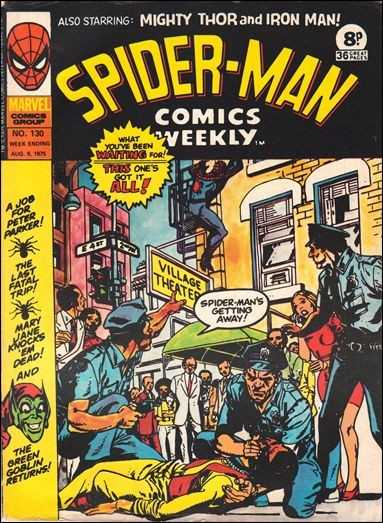 Spider-Man Comics Weekly Vol 1 130