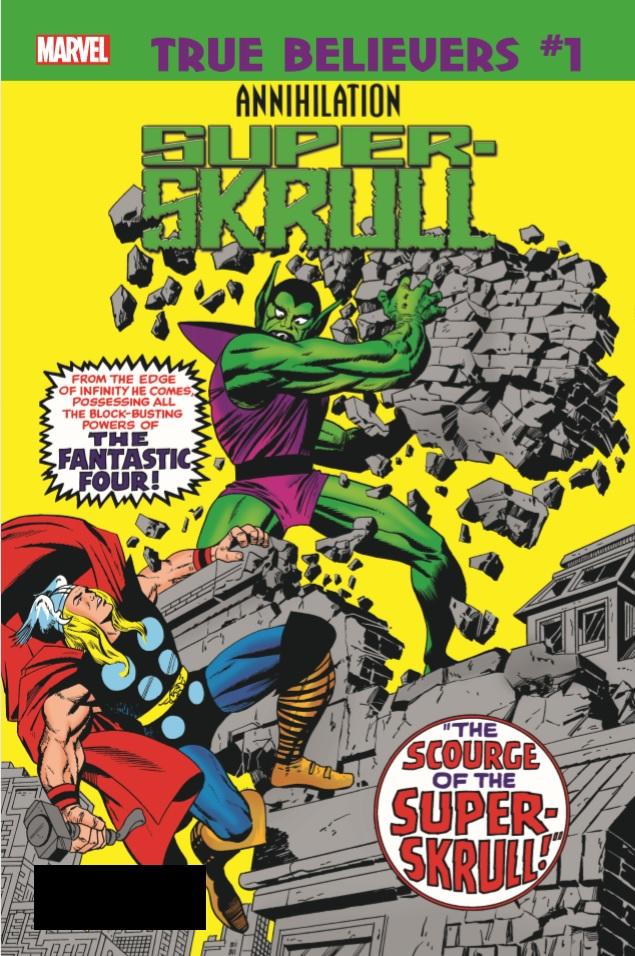 True Believers: Annihilation - Super-Skrull Vol 1 1