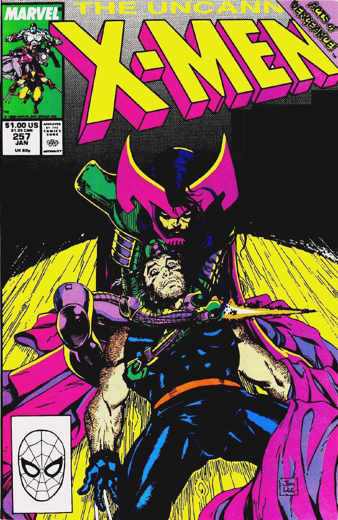 Uncanny X-Men Vol 1 257