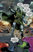 Victor von Doom (Earth-616) with Excelsior (Star-Sword) from Guardians of the Galaxy Vol 6 14 001