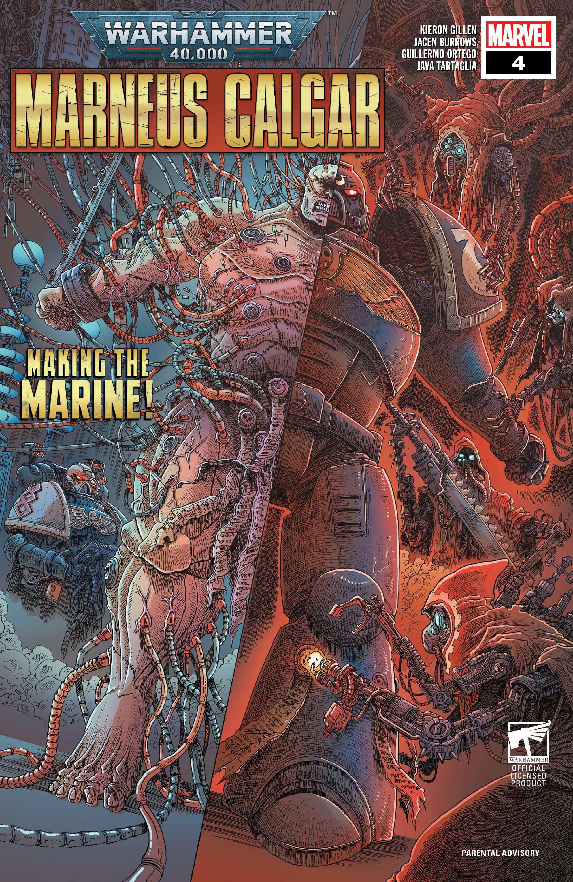 Warhammer 40,000: Marneus Calgar Vol 1 4