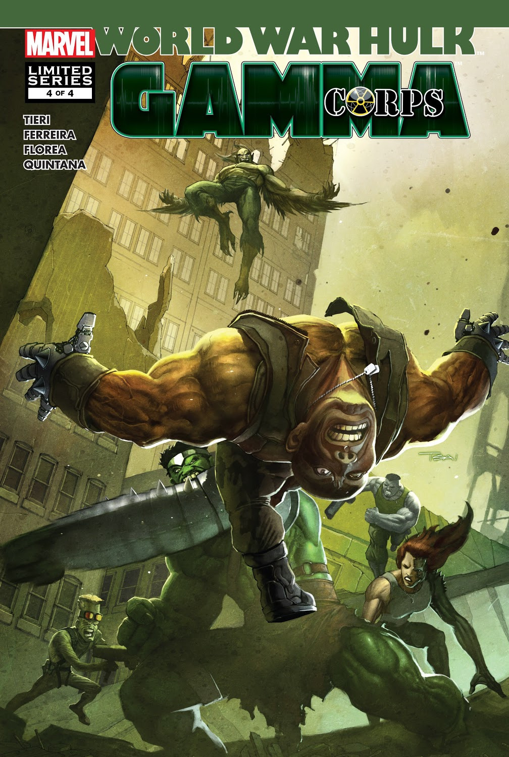 World War Hulk: Gamma Corps Vol 1 4