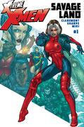 X-Treme X-Men Savage Land Vol 1 1