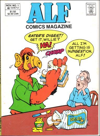 Alf Comics Magazine Vol 1