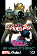 Amazing Spider-Man & Silk Spiderfly Effect Infinite Comic Vol 1 2