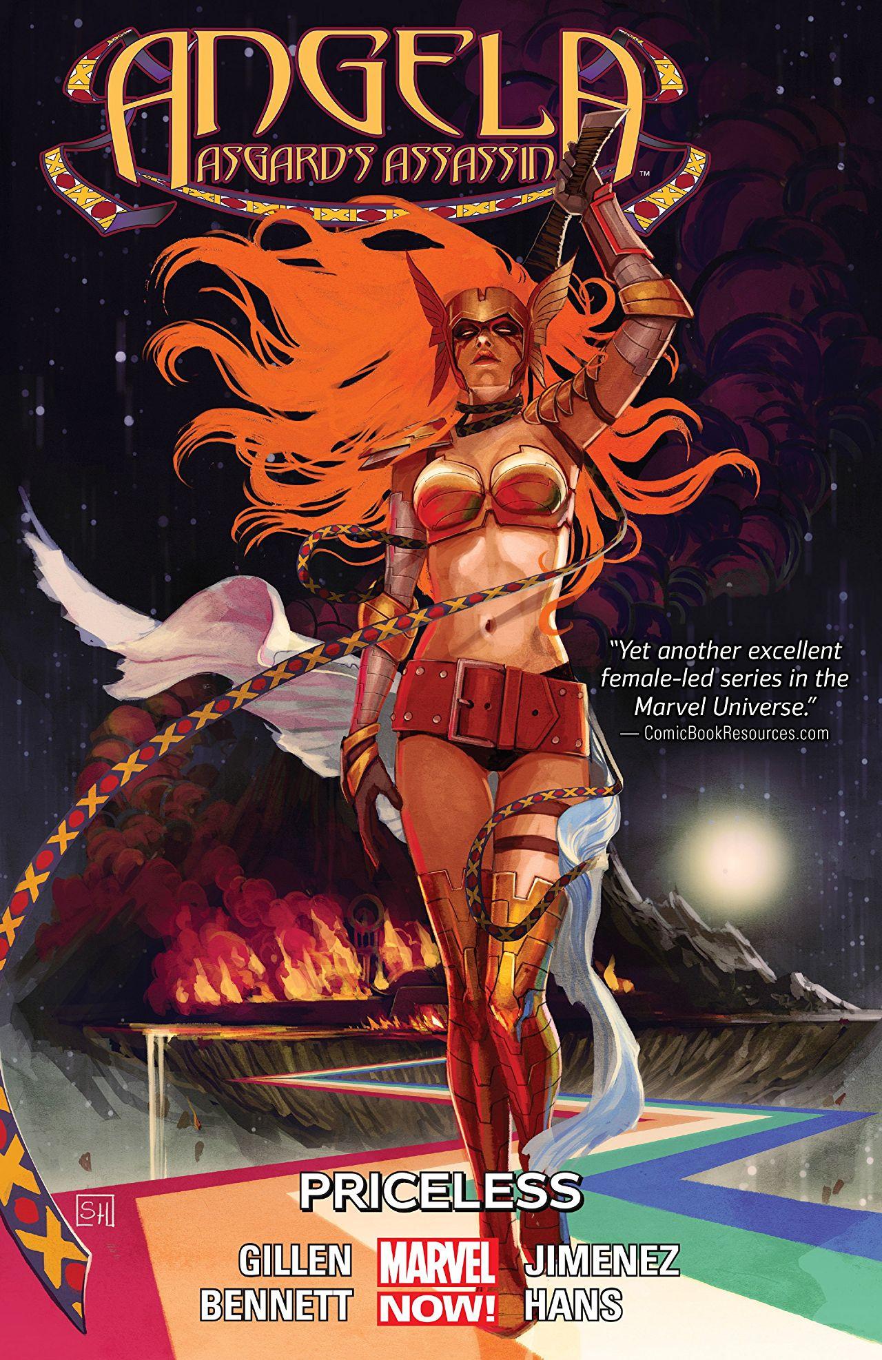 Angela: Asgard's Assassin TPB Vol 1 1: Priceless