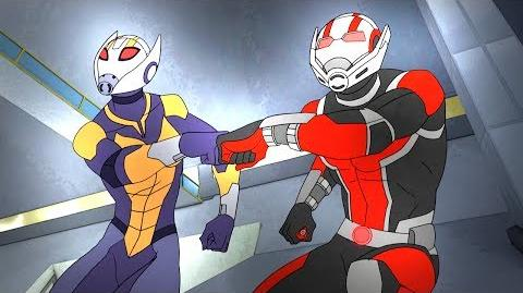 Ant-Man and Wasp Marvel's Avengers Secret Wars Disney XD