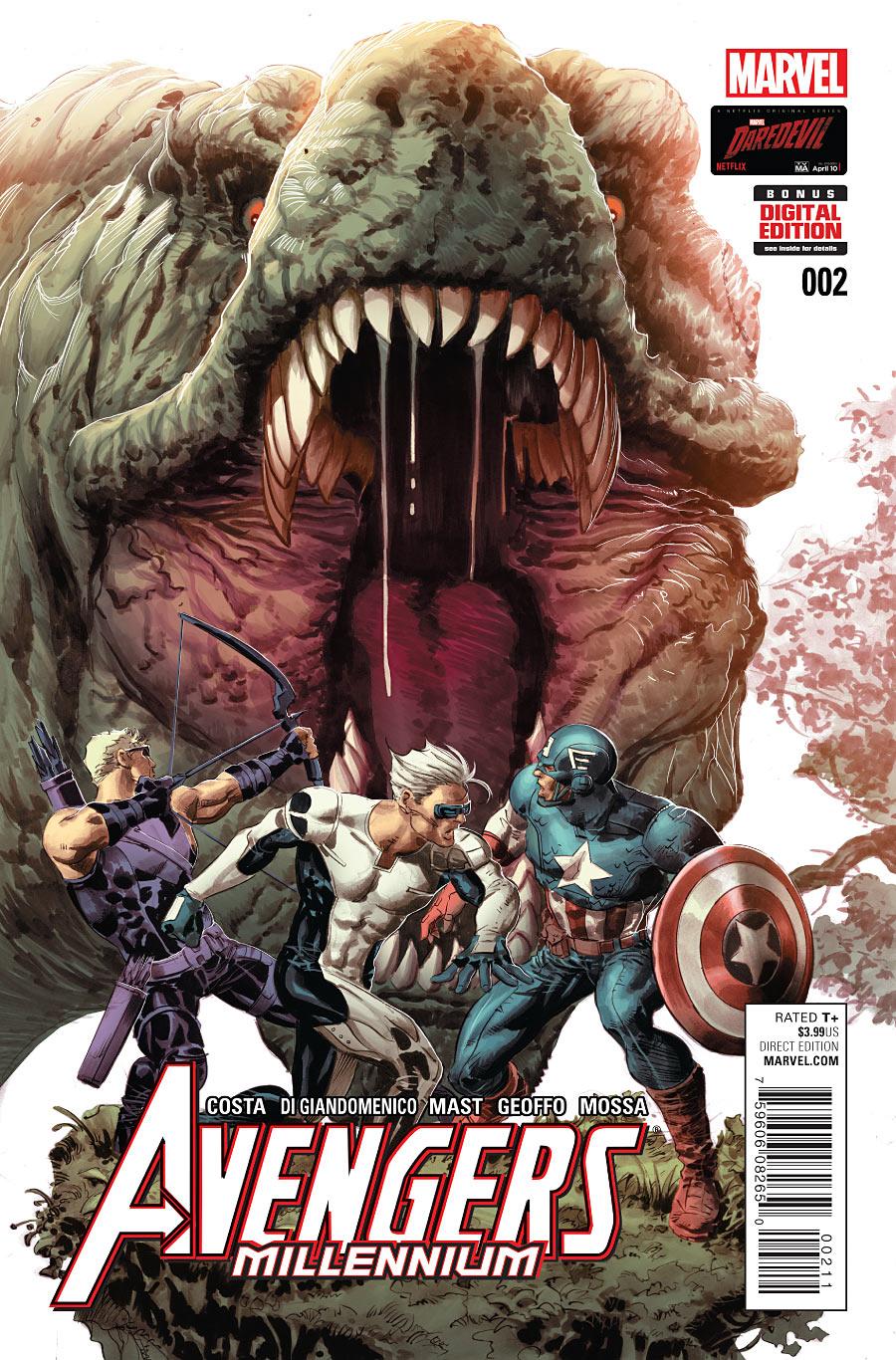 Avengers: Millennium Vol 1 2