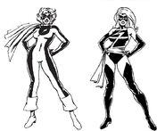 Carol Danvers (Earth-616) by Dave Cockrum 001