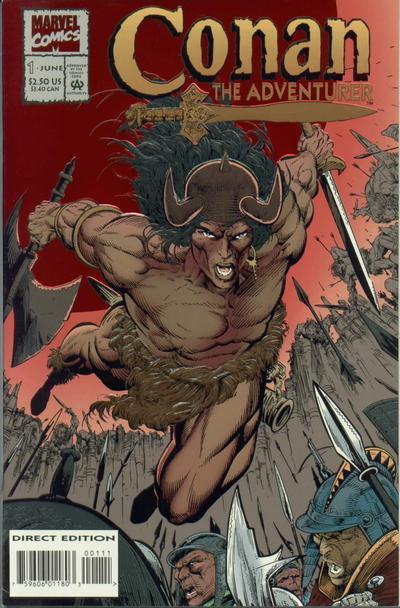 Conan the Adventurer Vol 1 1