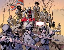 Confederate States Army (Earth-42466) Deadpool vs. X-Force Vol 1 1.jpg