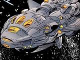 Cosmic Commandos' Command Ship