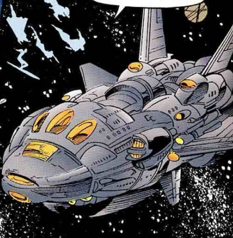 Cosmic Commandos' Command Ship