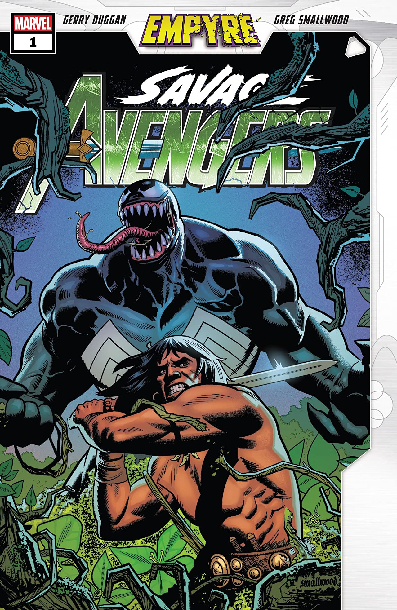 Empyre: Savage Avengers Vol 1 1
