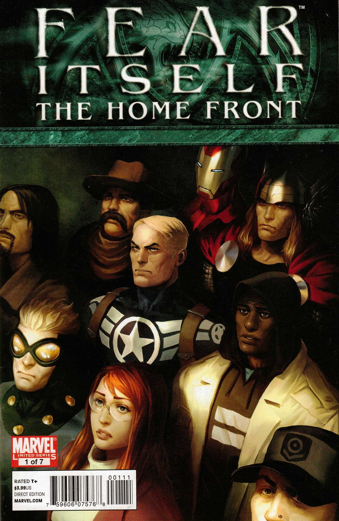 Fear Itself: The Home Front Vol 1 1