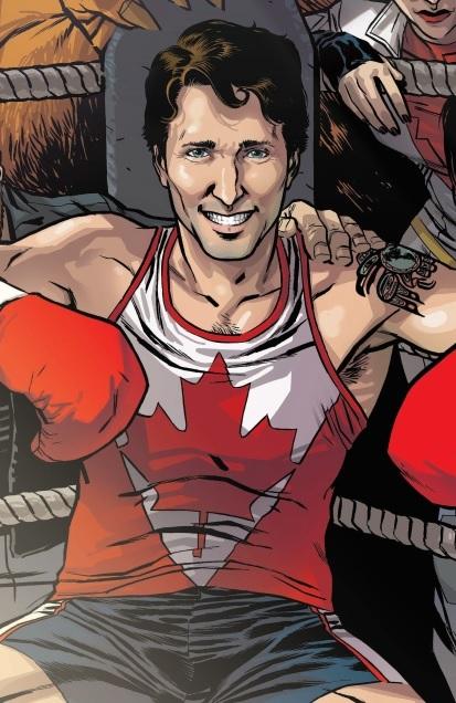 Justin Trudeau (Earth-616)