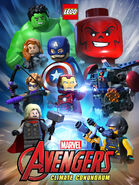 LEGO Marvel Avengers Climate Conundrum poster