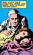 Magda Eisenhardt (Earth-616), Anya Eisenhardt (Earth-616), and Max Eisenhardt (Earth-616) from Classic X-Men Vol 1 12 001