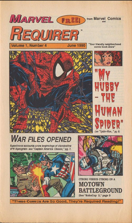 Marvel Requirer Vol 1 4
