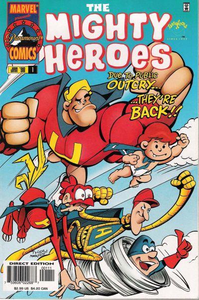 Mighty Heroes Vol 1 1