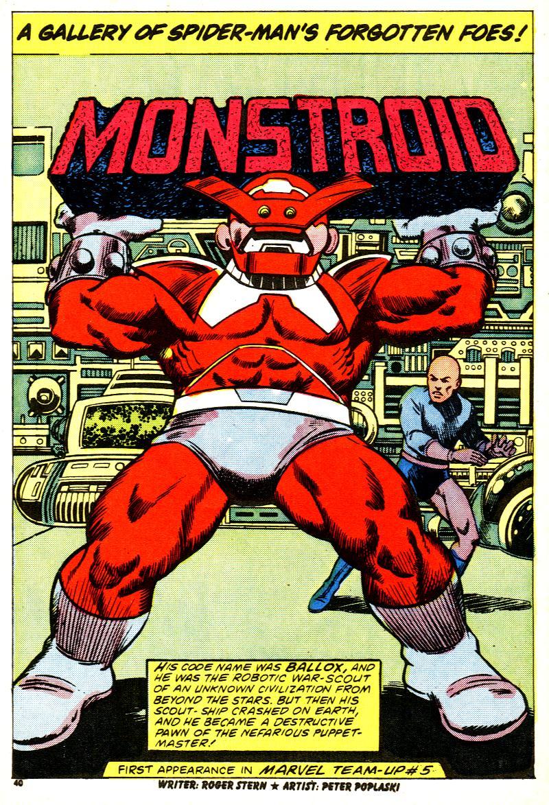Monstroid (Ballox) (Earth-616)