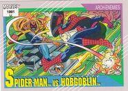 Peter Parker vs. Jason Macendale, Jr. (Earth-616) from Marvel Universe Cards Series II 0001