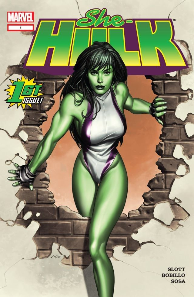 She-Hulk TPB Vol 1 1