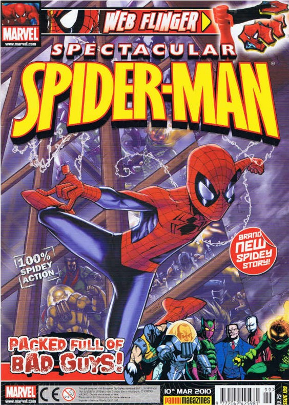 Spectacular Spider-Man (UK) Vol 1 199