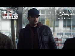 Symbol - Marvel Studios' The Falcon and The Winter Soldier - Disney+