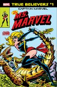 True Believers Captain Marvel - The New Ms. Marvel Vol 1 1
