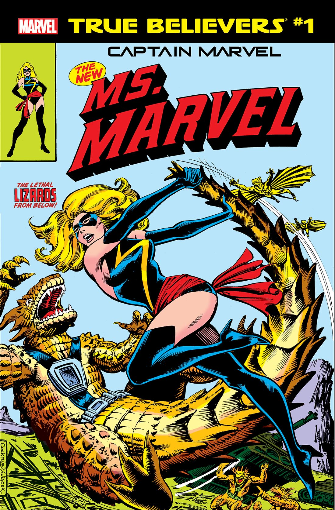 True Believers: Captain Marvel - The New Ms. Marvel Vol 1