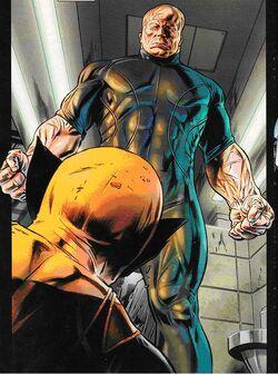 Victor Hudson (Earth-616) and James Howlett (Earth-616) from Wolverine Origins Vol 1 33 001.jpg