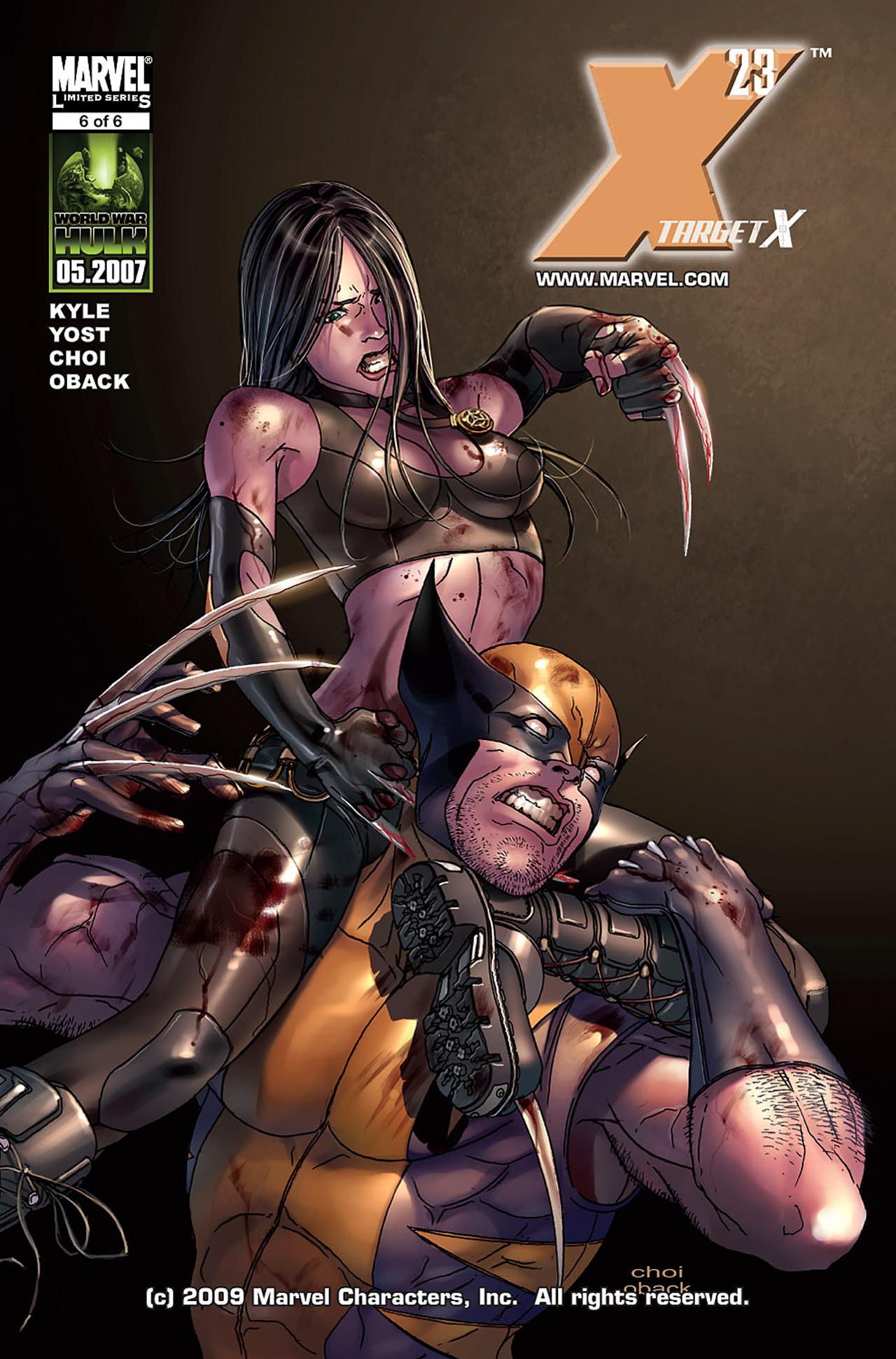 X-23: Target X Vol 1 6