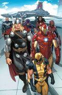 Avengers (Earth-616) from Daken Dark Wolverine Vol 1 9.1 001
