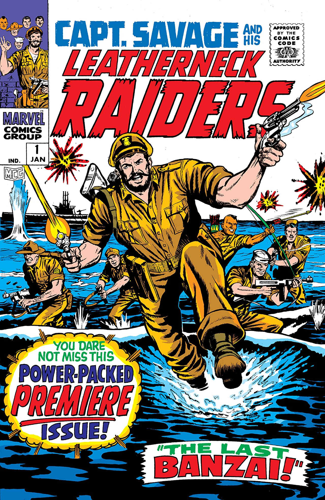 Capt. Savage and his Leatherneck Raiders Vol 1 1