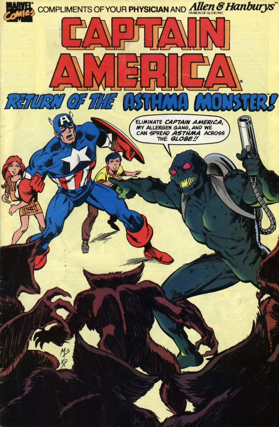 Captain America: Return of the Asthma Monster Vol 1 1