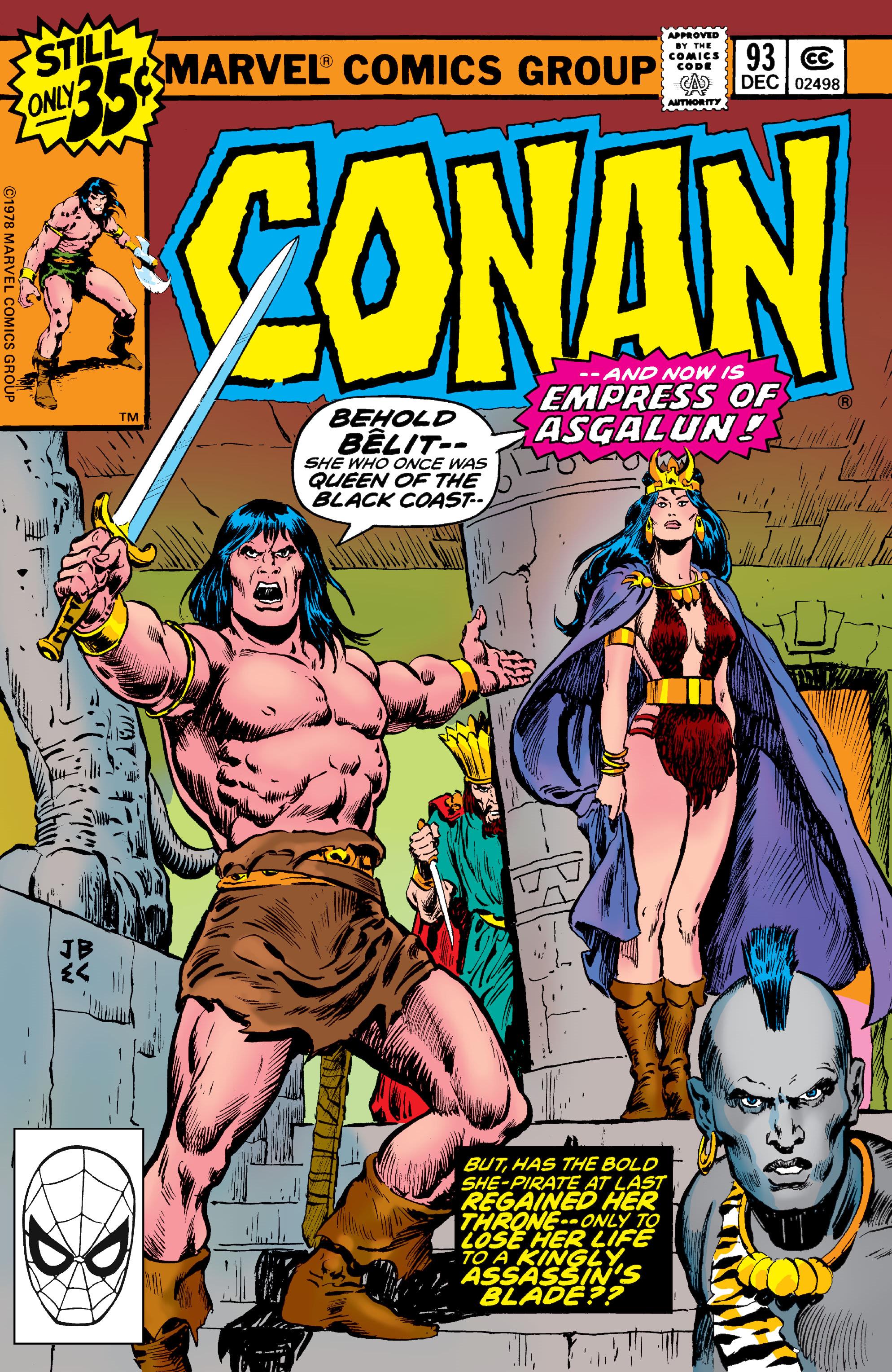 Conan the Barbarian Vol 1 93