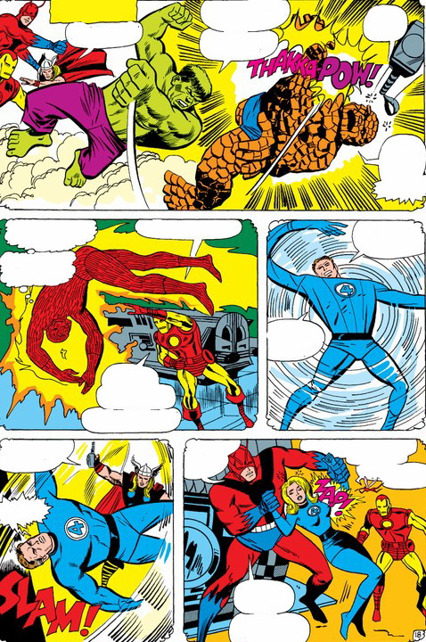 Fantastic Four (Earth-689)/Gallery